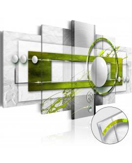 Tableau sur verre acrylique - Green Energy [Glass] 100x50