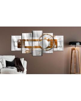 Tableau sur verre acrylique - Nut-like Energy [Glass] 200x100