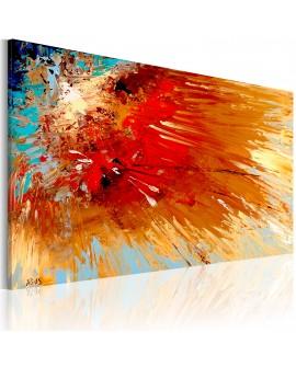 Tableau peint à la main - Explosion