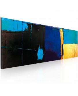 Tableau peint à la main - La fascination pour la couleur bleue
