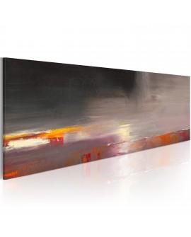 Tableau peint à la main - Mer cachée dans le brouillard
