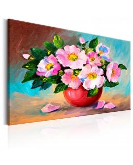 Tableau peint à la main - Spring Bunch