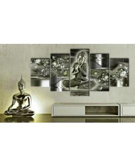 Tableau - Buddha smeraldo