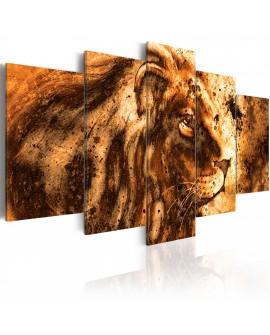 Tableau - Beautiful Lion