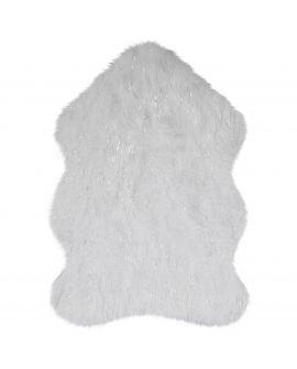 TAPIS AURA FAUX FUR GLACIER 45% Acrylic, 35% Polyester, 15% Modacry, 5% lurex IVORY