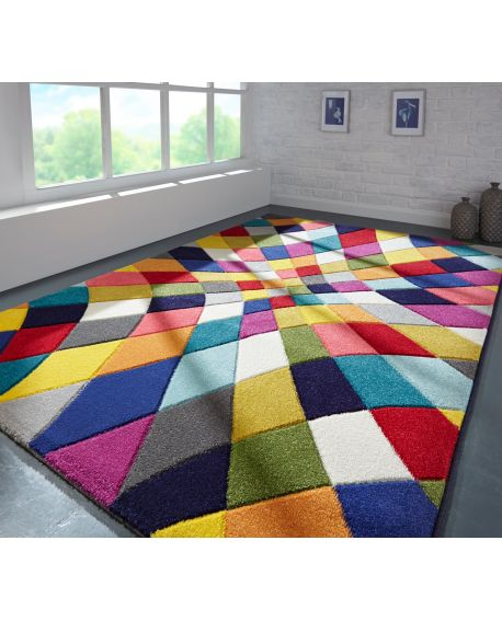 TAPIS CORE SPECTRUM RHUMBA POLYPROPYLENE MULTI