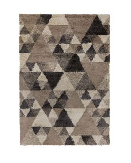 TAPIS DAKARI NURU 100% Polypropylene NATURAL/GREY