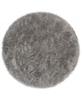 TAPIS FAUX FUR SHEEPSKIN 100% Acrylic GREY