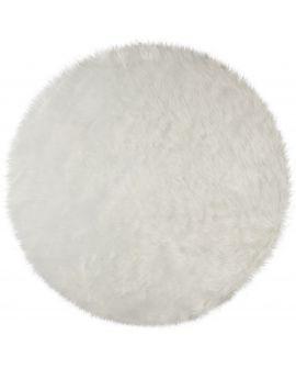 TAPIS FAUX FUR SHEEPSKIN 100% Acrylic IVORY