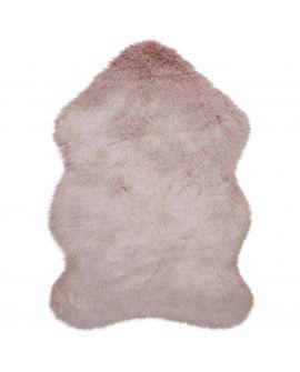 TAPIS FREJA FAUX FUR COPENHAGEN 82% Acrylic, 18% Polyester BLUSH PINK