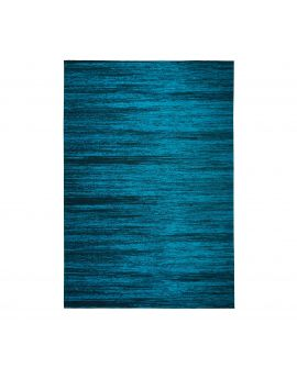 TAPIS MANHATTAN LENOX 50% Acrylic, 27% Polyester, 23% Cotton BLUE