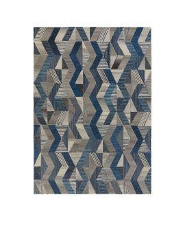 TAPIS MODA ASHER 100% Wool BLUE