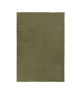 TAPIS PORTO ESTELA 100% Wool GREEN