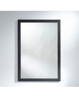 Miroir KYO RECT Modern Rectangle Noir 89,3x129,3 cm