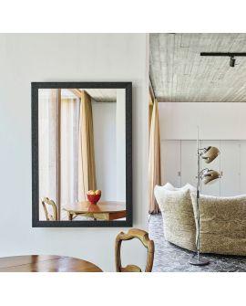 Miroir KYO RECT Modern Rectangle Noir 89,3x129,3 cm