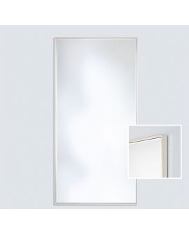 Miroir SOHO SILVER XL Modern Rectangle Argent 81x176 cm