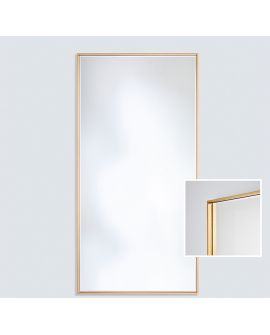 Miroir SOHO GOLD XL Modern Rectangle Or 81x176 cm