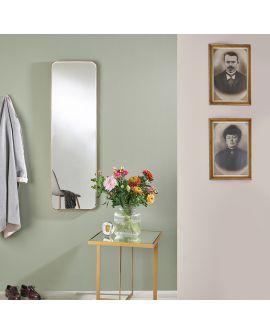 Miroir FASO RONZE HALL Modern Rectangle Or 40x130 cm