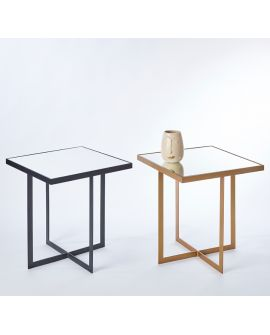 MIROIR TABLE TABLO BRONZE S 51x55 CM