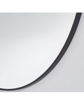 Miroir HOOP BLACK L Rond Noir 105x105 cm