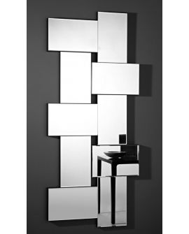 Miroir design Criss Cross