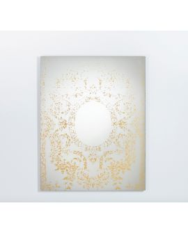 Miroir contemporain OXIDE BRONZE S (small)