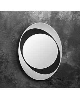 Miroir Oval Contemporain SPHERE