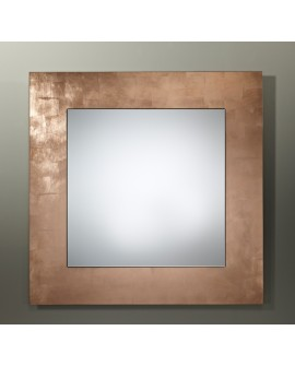 Miroir BASIC SQUARE COPPER / CUIVRE
