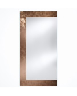 Miroir BASIC WING COPPER / CUIVRE Modern Traditionnel Rectangulaire 66,5x160 cm