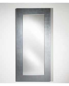 Miroir BASIC HALL SILVER / ARGENTE Modern Traditionnel Rectangulaire 75x160 cm