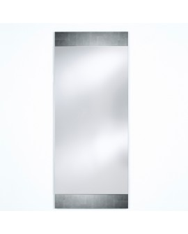 Miroir BASIC MIDDLE SILVER / ARGENTE Modern Traditionnel Rectangulaire 66,5x160 cm