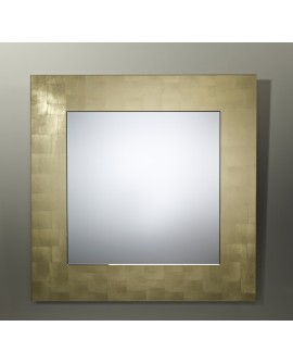 Miroir BASIC SQUARE GOLD / OR Modern Traditionnel Carré Dorée 85x85 cm