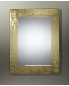 Miroir BASIC RECTANGULAIRE GOLD / OR Modern Traditionnel Dorée 80x108 cm