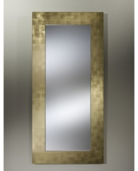 Miroir BASIC HALL GOLD / OR Modern Traditionnel Rectangulaire Dorée 75x160 cm