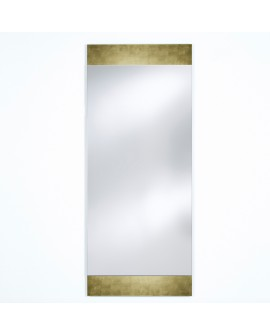 Miroir BASIC MIDDLE GOLD / OR Modern Traditionnel Rectangulaire Dorée 66,5x160 cm