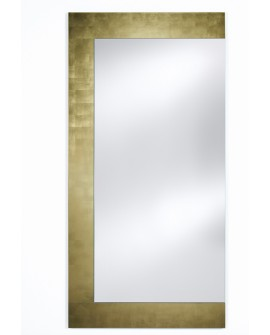 Miroir BASIC WING GOLD / OR Modern Traditionnel Rectangulaire Dorée 66,5x160 cm