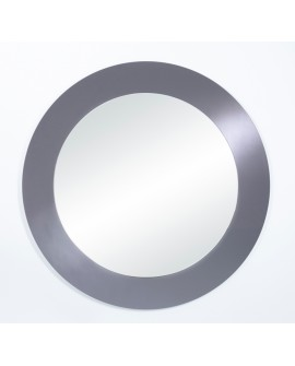 Miroir BASIC CIRCLE GREY / GRIS MAT