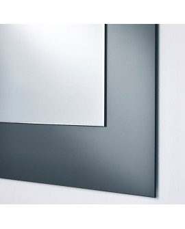 Miroir BASIC HALL GREY / GRIS MAT