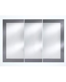 Miroir BASIC MIDDLE GREY / GRIS MAT