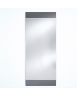 Miroir BASIC MIDDLE GREY / GRIS MAT Modern Traditionnel Rectangulaire 66,5x160 cm