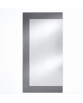 Miroir BASIC WING GREY / GRIS MAT Modern Traditionnel Rectangulaire 66,5x160 cm