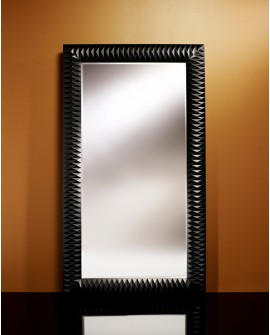 Miroir Contemporain NICK L BLACK Large Rectangulaire Noir 106x189 cm