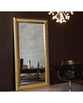 Miroir Contemporain NICK L GOLD Contemporain Rectangulaire Naturel 100x190 cm
