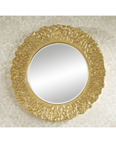 Miroir Contemporain FLORA GOLD