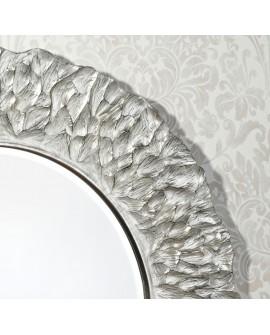 Miroir Design FLORA SILVER