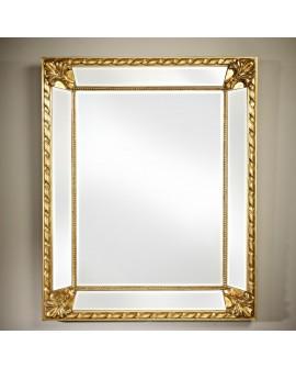 Miroir CASTELLO GOLD Gothique Rectangulaire Dorée 91x112 cm