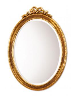 Miroir COQUETTE GOLD Gothique Ovale Dorée 71x50 cm