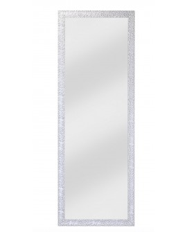 Miroir OSLO SMALL HALL Contemporain Traditionnel Classique Rectangulaire Argenté 50x140 cm