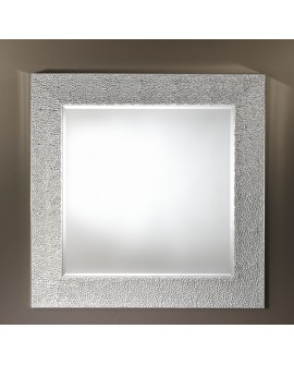 Miroir OSLO SILVER SQUARE Contemporain Traditionnel Classique Rectangulaire Argenté 102 cm