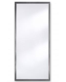 Miroir BREMEN DARK XL Traditionnel Classique Rectangulaire Argenté 75x170 cm
